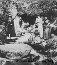 Ladies in Cascade Canyon