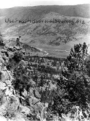 Lookout Mountain Above Crystola 1920